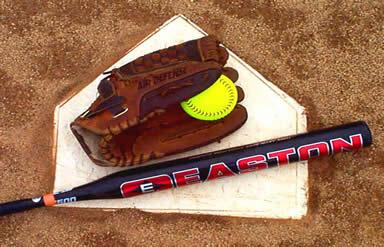 softball_bat_glove_ball_homeplate